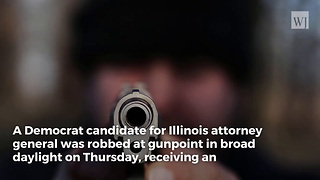 Armed Robbers Target Democrat Politician in Broad Daylight in Chicago - Video
