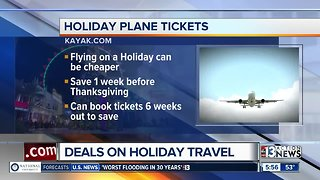 How to get deals on holiday travel