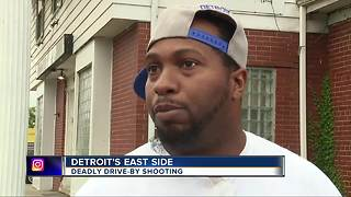 1 killed, 3 wounded in drive-by shooting on Detroit's east side