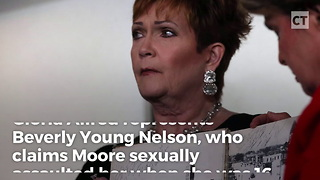 Moore Accuser's Attorney Keeping Yearbook Under Wraps - Video
