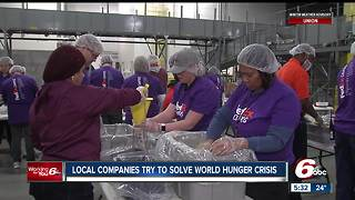 Local companies try to solve world hunger - Video