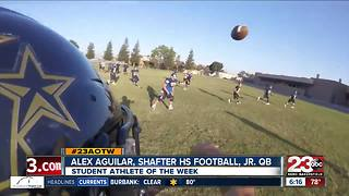 Male Athlete of the Week: Alex Aguilar - Video