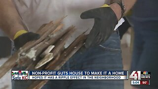 Non-profit gust house to make it a home