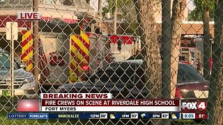 Fire crews respond to Riverdale High parking lot