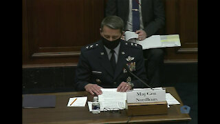DOD Officials Testify on National Guard's COVID-19 Response