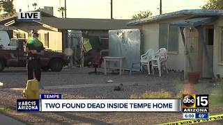 Two found dead inside Tempe home - Video