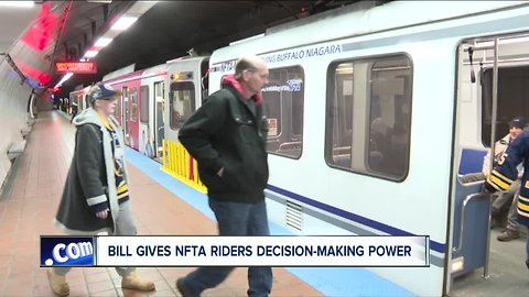 State Senate gives NFTA riders a voice in major transit decisions