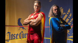 TOWIE's Pete Wicks and James Lock become Lucha Libre wrestlers