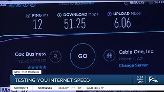 Testing Your Internet Speed