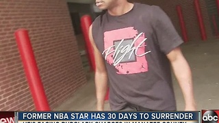 Former NBA star Francis has 30 days to surrender - Video