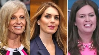 Hope Hicks praised by Trump White House aides. - Video