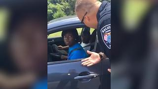 This Cop Pulls People Over...To Give Them Ice Cream! - Video
