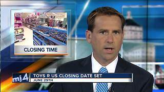 Toys 'R' Us will close all its stores for good on June 29 - Video