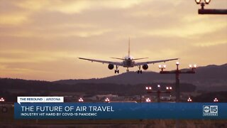 The airline industry hit hard by COVID-19 pandemic