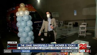 Second Annual 23ABC Bakersfield Baby Shower is underway