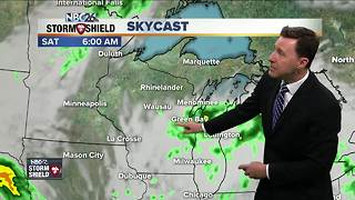 Michael Fish's NBC26 Storm Shield weather forecast - Video