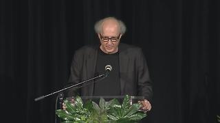 Bruce Barry Speaks At Son, Max's, Memorial Service - Video