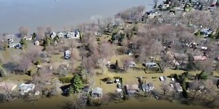 Floodwaters Inundate Montreal Suburb
