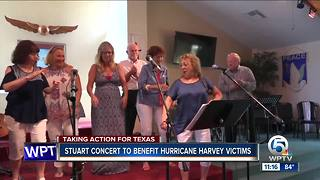 Benefit held in Stuart for Hurricane Harvey victims - Video