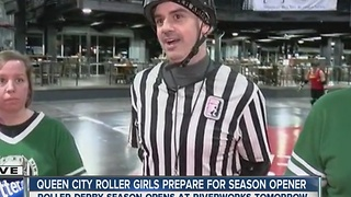 Babes, brawls and the season opener for the Queen City Roller Girls! - Video
