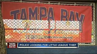 Police search for little league thief - Video