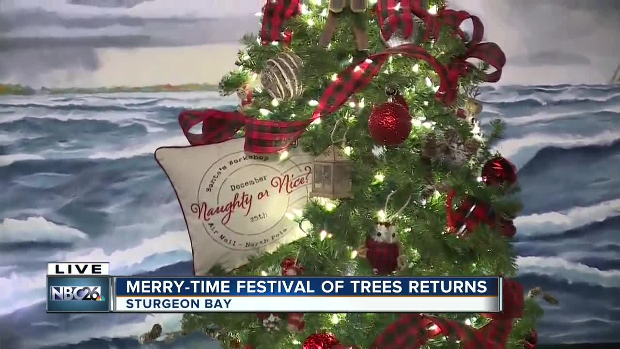 Merry-Time Festival of Trees in Door County