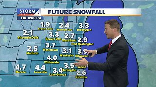 Light snow arrives Thursday, more expected for the weekend