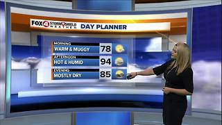 Temperatures Increasing, Rain Chances Decreasing - Video