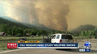 Colorado professor leads team that will fly plane into wildfire smoke to study impact - Video