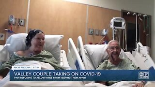 Peoria couple married 70 years sticks together through COVID-19