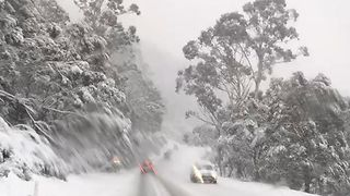 'Blizzard of Oz' Blankets Alpine Way - Video