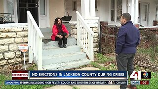 Judge orders temporary freeze of evictions in Jackson County
