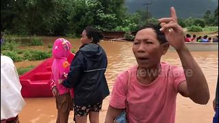 Rescue efforts continue in flooded villages in Laos after dam collapse - Video