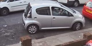 Woman can't park to save her life