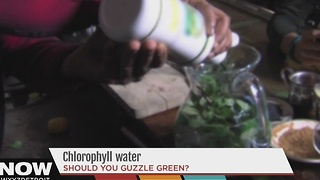 Chlorophyll water becoming popular - Video