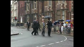 FILE: Prince Harry arrives for first day at Eton College - Video