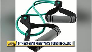 DICK'S Sporting Goods recalls resistance tubes after reports of injuries - Video