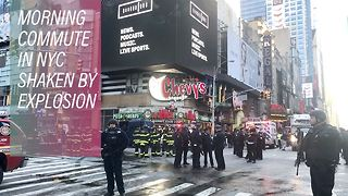 Failed terror attack hits NYC's Port Authority - Video