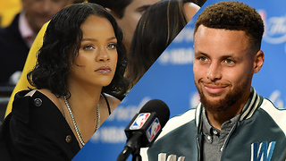 Steph Curry DISSES Rihanna in Pre-Game Presser - Video