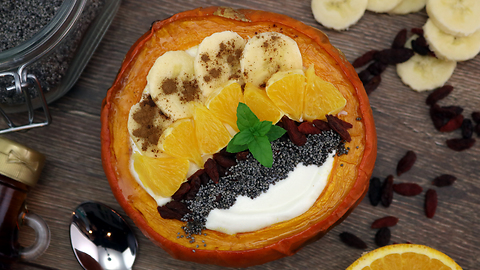 How to make the perfect Pumpkin Yogurt Bowl!