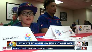 Jayhawks land 'top recruit' on signing day