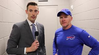 Bills beat Falcons, 1-on-1 with HC Sean McDermott - Video