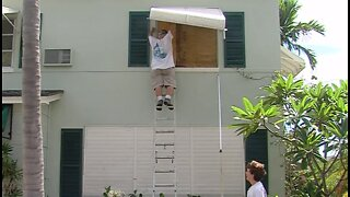 South Florida residents board up their homes ahead of Hurricane Dorian