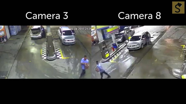 Does This Video Show a Car Exploding at a Gas Station Due to