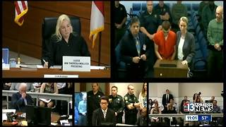 Florida high school gunman appears in court