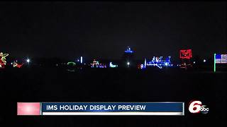 Lights at the Brickyard soon to open at Indianapolis Motor Speedway - Video