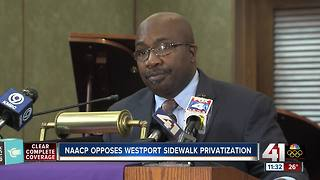 KC NAACP: Westport sidewalk privatization won't solve real issues - Video