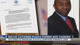 Mayor Catherine Pugh's aide charged in campaign finance fraud - Video