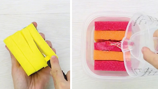 5 life-changing ways of using cleaning sponges - Video