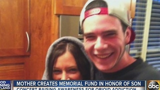 Mother creates memorial fund for 21-year-old son - Video